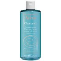 Авене Клинанс Очищающая вода  для жирной и чувствительной  кожи  (Avene, Cleanance) 400 ml