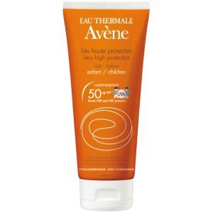 Купить Авене Молочко солнцезащитное детское SPF 50 (Avene, Solaire) 100 ml из категории Солнцезащитные средства