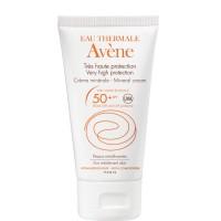 Авене Солнцезащитный крем с минеральным экраном SPF 50  (Avene, Solaire) 50 ml