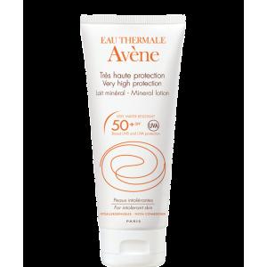 Купить Авене Солнцезащитное молочко с минеральным экраном SPF 50  (Avene, Solaire) 100 ml из категории Солнцезащитные средства