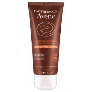 Купить Авене увлажняющий шелковистый гель-автобронзат  (Avene, Solaire) 100 ml из категории Солнцезащитные средства
