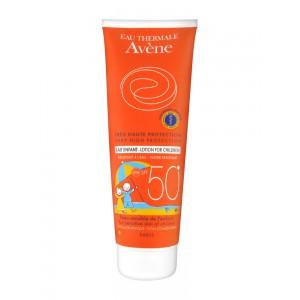Авене Молочко солнцезащитное детское SPF 50 (Avene, Solaire) 250 ml