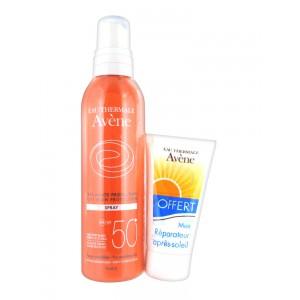 Авене Спрей  солнцезащитный SPF 50 (Avene, Solaire) 200 ml
