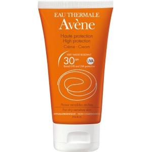 Авене крем солнцезащитный для чувствительной кожи SPF 30 (Avene, Solaire) 50 ml