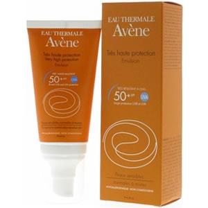 Купить Авене эмульсия солнцезащитная SPF 50+ (Avene, Solaire) 50 ml из категории Солнцезащитные средства
