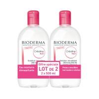 Биодерма Клеарлайн/Сенсибио мицеллярный раствор H2O  (Bioderma, Crealine/Sensibio) 2х500 ml