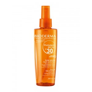 Биодерма Фотодерм Бронз масло солнцезащитное SPF 30(Bioderma, Photoderm) 200 ml