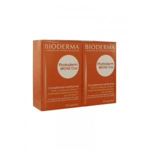 Биодерма Фотодерм Бронз капсулы для загара (Bioderma, Photoderm) 2x30 капсул