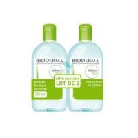 Биодерма Себиум мицелловый раствор для жирной и проблемной кожи (Bioderma, Sebium) 500 ml+ 500 ml
