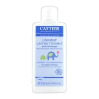 Каттьер детский очищающий линимент для смены подгузника  (Cattier) 200 ml