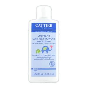 Купить Каттьер детский очищающий линимент для смены подгузника  (Cattier) 200 ml из категории Мама и малыш