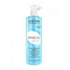 Дюкре Керакнил гель очищающий для лица и тела (Ducray, Keracnyl) 400 ml