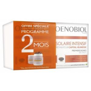 Купить Оенобиол Солар Интенсив молодость кожи капсулы усилитель загара (Oenobiol, Youth Sun)  2 х 30 капсул из категории Пищевые добавки