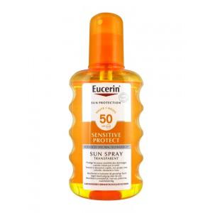 Эуцерин защита от солнца солнцезащитный спрей SPF 50 (Eucerin, Sun Protection) 200мл