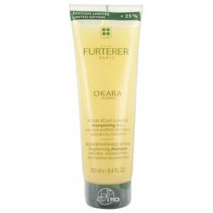 Купить Рене Фуртерер Окара Блонд шампунь для светлых, осветленных и мелированных волос 250мл (Rene Furterer, Okara Blond) из категории Шампуни для ежедневного ухода