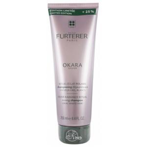 Купить Рене Фуртерер Okara мягкий шампунь для придания блондинированным волосам серебристого оттенка (Rene Furterer) 250мл из категории Шампуни для ежедневного ухода