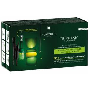 Купить Рене Фуртерер Трифазик Прогрессив сыворотка от выпадения волос (Furterer Triphasic Progressive) 8 x 5,5ml из категории Средства против выпадения волос