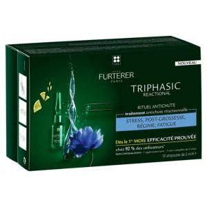 Купить Рене Фуртерер набор Трифазик Реакшионель сыворотка против выпадения волос  (Furterer, Triphasic Reactional) 12 x 5ml из категории Средства против выпадения волос
