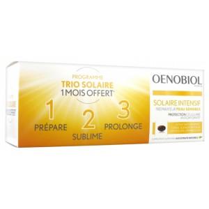 Купить Oenobiol Интенсив Солар Nutriprotection для светлой кожи (3х30 гель-капсул) из категории Пищевые добавки