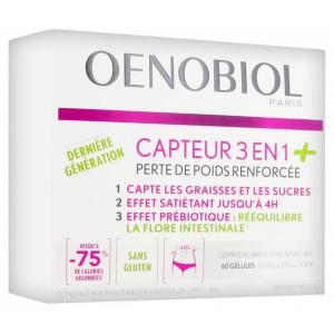 Купить Oenobiol потеря веса 3 в 1 (60 капсул) из категории Пищевые добавки