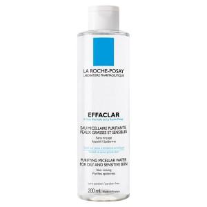 Ля Рош-Позе Эфаклар Очищающая мицеллярная жидкость для снятия макияжа  (La Roche-Posay Effaclar) 200 ml