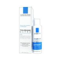 Ля Рош-Позе Увлажняющее успокаивающее средство для сверхчувствительной кожи толеран-ультра+очищающий флюид в подарок (La Roche-Posay  Toleriane) 40 ml+50 мл