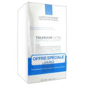 Ля Рош-Позе Толеран Увлажняющий уход для чувствительных глаз  (La Roche-Posay  Toleriane) 2х30 доз