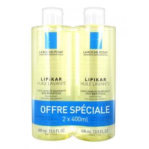 Купить Ля Рош-Позе Липикар Смягчающее масло для душа и ванной (La Roche-Posay Lipikar) 2х400 ml из категории Уход за телом