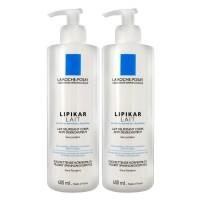Ля Рош-Позе Липикар Молочко увлажняющее для очень сухой кожи лица и тела (La Roche-Posay Lipikar) 2х400 ml