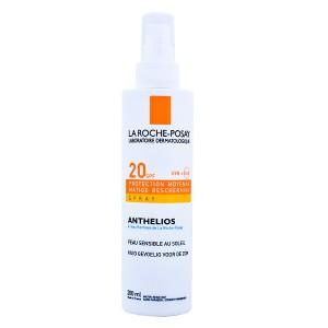 Купить Ля Рош-Позе Aнтгелиос Солнцезащитный спрей для лица и тела SPF 20 (La Roche-Posay  Anthelios) 200 ml из категории Солнцезащитные средства