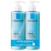 Ля Рош-Позе Липикар Сюргра очищающий концентрированный крем для душа (La Roche-Posay, Lipikar) 2x400 ml