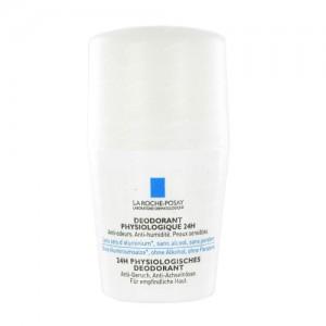 Ля Рош-Позе Физио Шариковый дезодорант 24 часа (La Roche-Posay  Physio) 50 ml