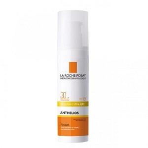 Ля Рош-Позе Антгелиос аквагель для кожи, чувствительной к солнцу SPF 30 (La Roche-Posay, Anthelios) 50 ml