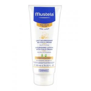 Мустела BeBe молочко для тела защитное с кольд-кремом (Mustela Bebe) 200 ml