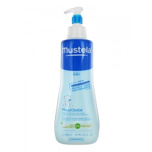 Купить Мустела жидкость очищающая Физио Бебе (Mustela PhysiObébé) 500ml из категории Мама и малыш