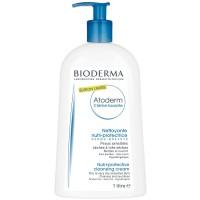 Биодерма Атодерм очищающий крем (Bioderma, Atoderm) 1 литр