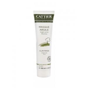 Каттьер Зеленая глина маска для жирной кожи (Cattier) 100мл