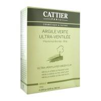 Каттьер ультрамикронизированная зеленая глина (Cattier) 250гр