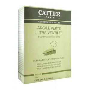 Купить Каттьер ультрамикронизированная зеленая глина (Cattier) 250гр из категории Маски
