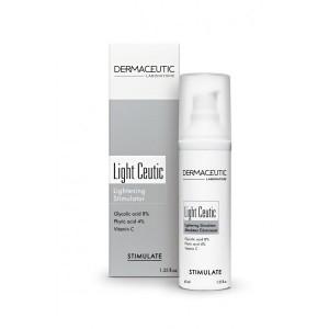 Дермасьютик стимулирующий ночной крем Light ceutic (Dermaceutic) 40ml