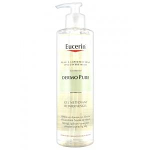 Эуцерин дермо пью очищающий гель (Eucerin, Dermo Pure) 400ml