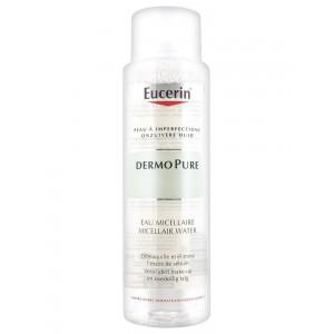 Купить Эуцерин дермо пью мицеллярная вода (Eucerin Dermo Pure) 400ml из категории Жирная и проблемная кожа