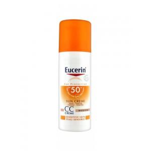 Эуцерин защита от солнца солнцезащитный СС крем SPF 50+ (Eucerin, Sun Protection) 50мл