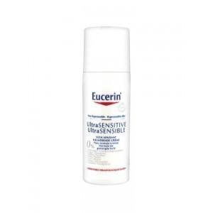 Купить Эуцерин Ultra Sensitive успокаивающий уход для нормальной и комбинированной кожи (Eucerin) 50мл из категории Чувствительная кожа
