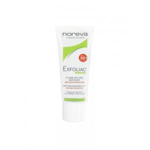 Купить Эксфолиак солнцезащитный флюид SPF 50+ (Exfoliac) 40мл из категории Жирная и проблемная кожа