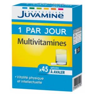 Купить Жувамин 1 раз в день мультивитамины (Juvamine, Multivitamins) 45 капсул из категории Пищевые добавки