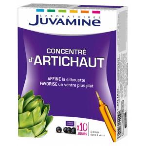 Купить Жувамин артишок концентрат (Juvamine, Slimness Promise) 10 флаконов из категории Пищевые добавки