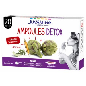 Купить Жувамин артишок детокс (Juvamine, Slimness Promise) 20 Флаконов из категории Пищевые добавки