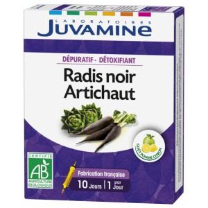 Купить Жуамин черная редька и артишок (Juvamine, Slimness Promise) 10 флаконов из категории Пищевые добавки