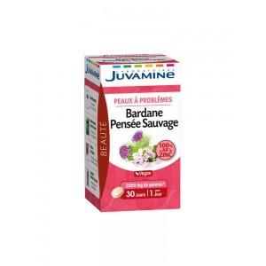 Купить Жувамин лопух и дикие анютины глазки (Juvamine, Beauty Promise) 30 таблеток из категории Пищевые добавки
